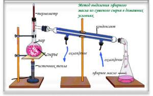 Способ производства эфирного масла